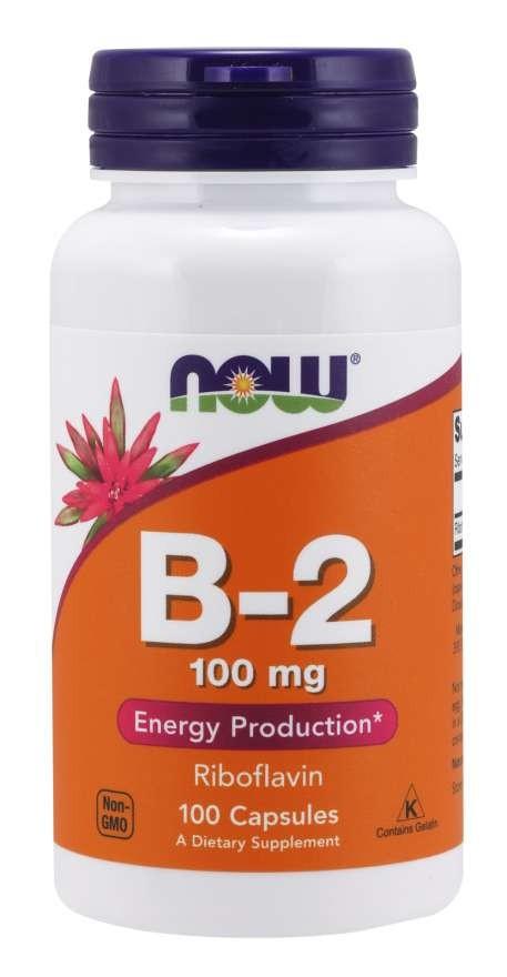 b-2 riboflavin 100 mg 100 caps