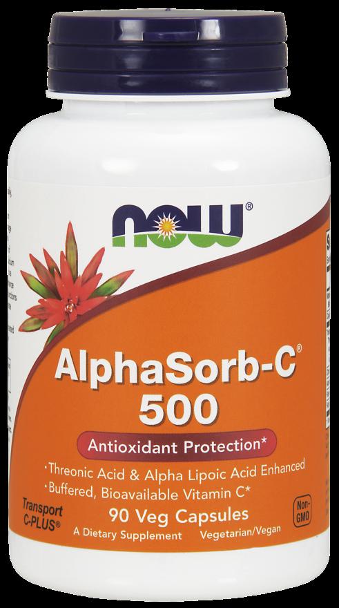Alpha Sorb C-500 mg 90 vcaps