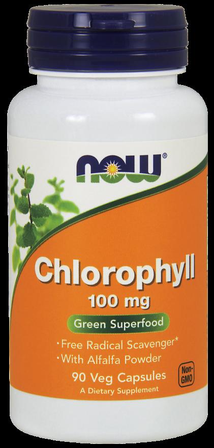 Chlorophyll 100 mg Veg Capsules