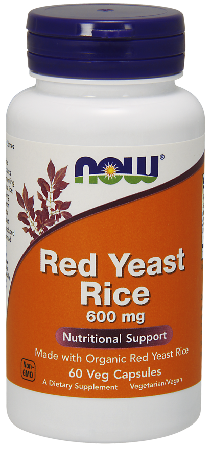 Organic Red Yeast 600 mg 60 vcaps