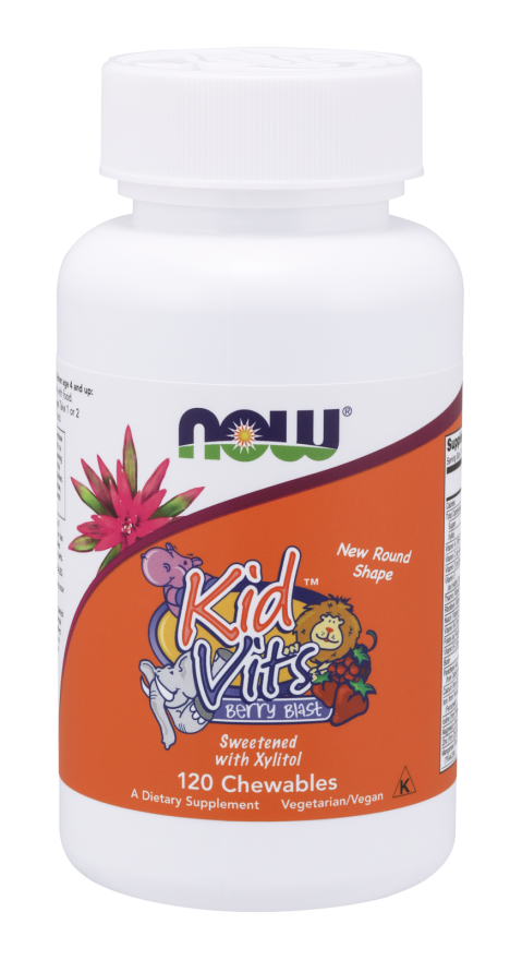 Kid Vits Berry Blast Chewables Sweetened with Xylitol