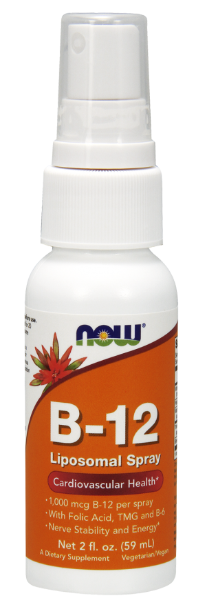 B-12 liposomal spray 2 oz