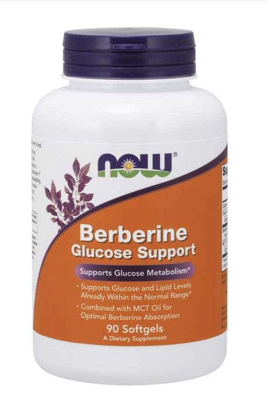 Berberine Glucose Support  90 Softgels