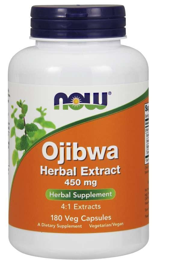 Ojibwa Herbal Extract 450 mg 180  Veg Capsules