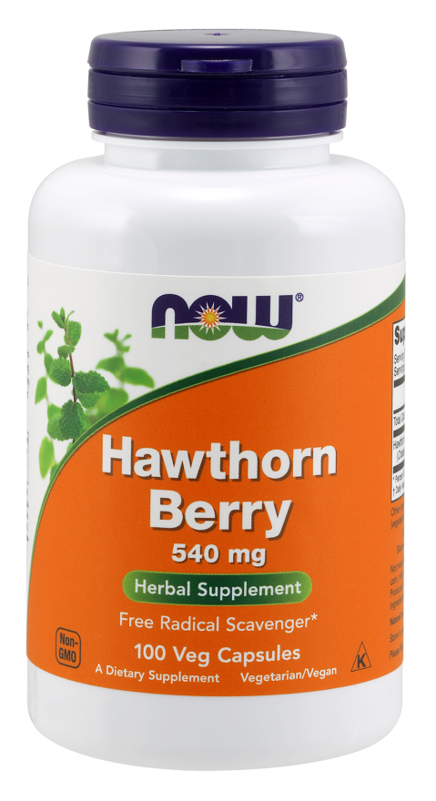 Hawthorn Berry 540 mg Capsules
