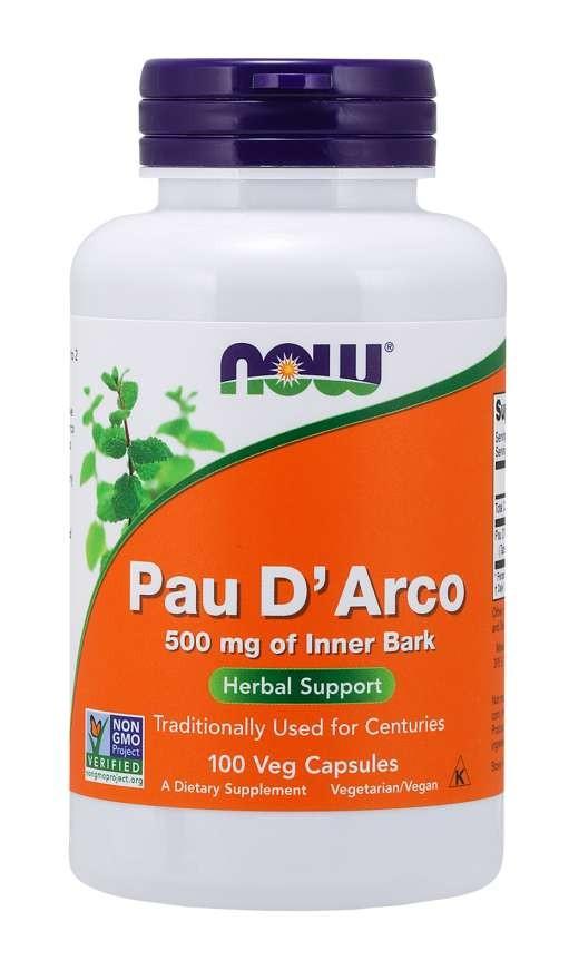Pau D'Arco 500 mg 100 vcaps