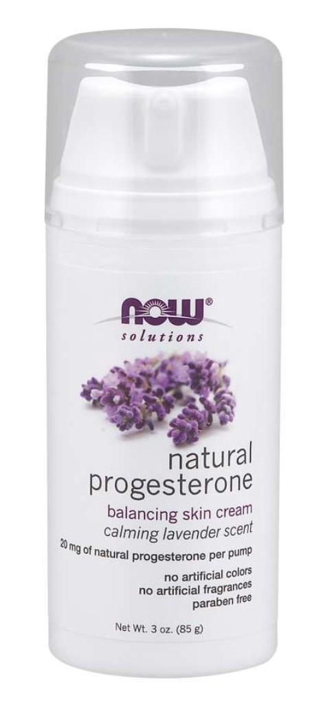 Nowfoods progesteroncreme med lavendel