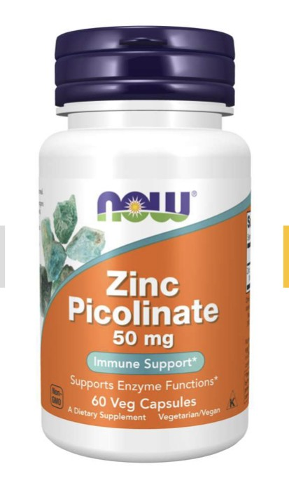 Zinc Picolinate 50 mg - 60 Caps