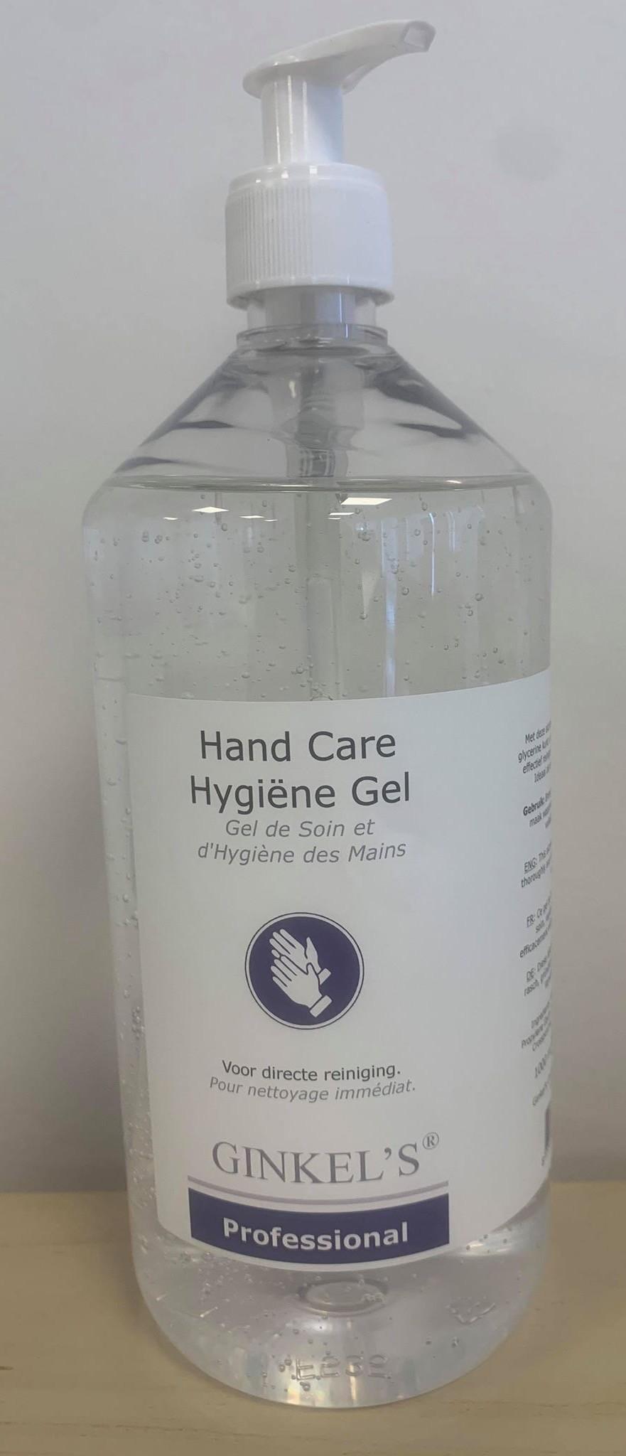 Plejende Håndgel med glycerin 1 l