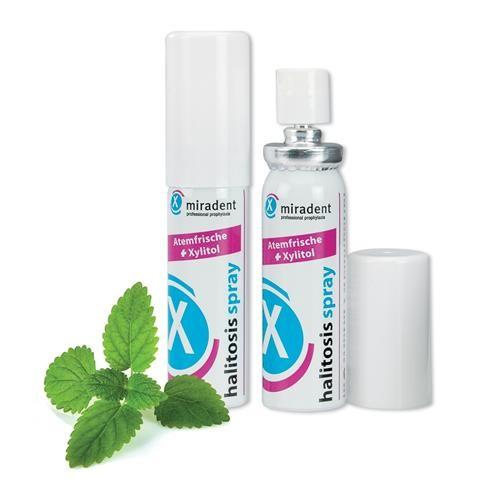 Halitosis mundspray, giver frisk ånde