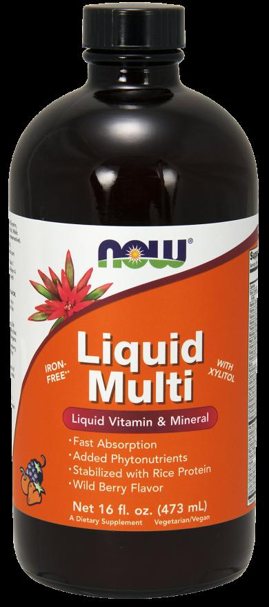 Liquid Multi, Wild Berry flavor 473 ml