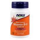 Vitamin D-3 2,000 IU - 120 Softgels