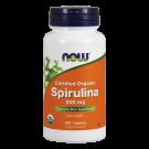 Spirulina organic 500mg 100 tabs