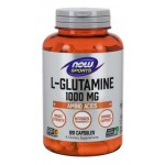L-Glutamine, Double Strength 1000 mg Capsules