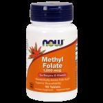 Methyl Folate 1,000 mcg 90 tabs