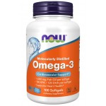 Omega-3, Molecularly Distilled 100 Softgels