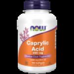 Caprylic Acid ( MCT oil) 600 mg 100 Softgels