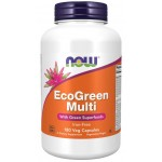 EcoGreen Multi Vitamin 180 Veg Capsules With Green Superfoods