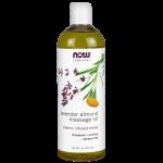 Lavender almond massage oil 16 fl oz
