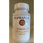 Vitamin D-3 5,000 IU - 120 Softgels