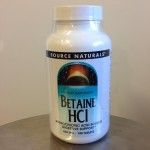Betaine HCL/ pepsin 180 tablets