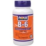 Vitamin B-6 100mg 100 Caps