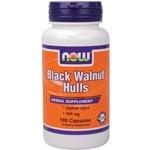 Black Walnut Hulls 500 mg - 100 Caps